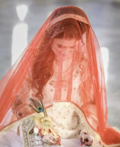 Choosing the right colour for your bridal outfit